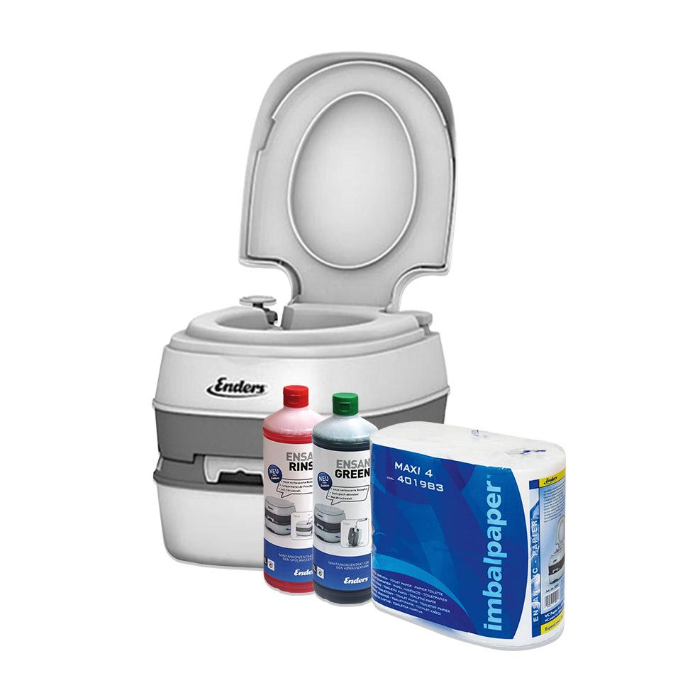 Chemisch Toilet Kopen.Camping Toilet Als Set Incl Alle Accessoires Hier Online Kopen