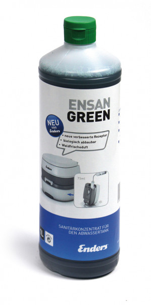 Chemisch toilet concentraat Ensan Green 1l