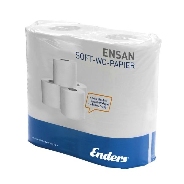 Speciaal toiletpapier voor camping toilet